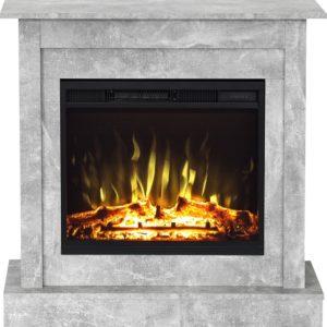 elektrisk, led kamin med realistisk eld effekt samt värmefunktion